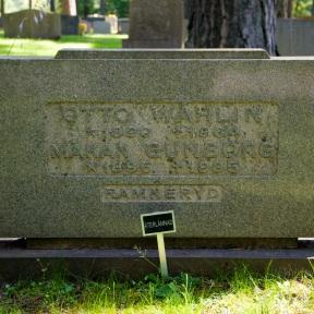 Far och Farmors grav