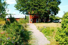 Fagerdal, här låg ursprungliga byn före Laga skifte