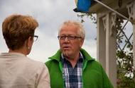Carina pratar med Sten Karlsson