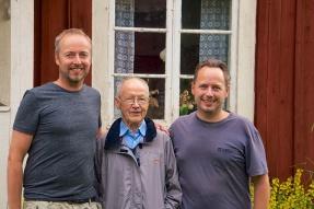 Kenneth Bergman, Allan Bengtsson och Peter Bergman