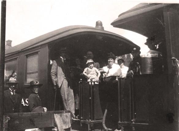 Besök av Knuts bror från Hallstahamar 1921 (kopia)