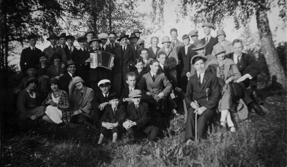 Gökotta vid krutkällan 1926
