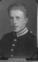 Hilding Persson i militäruniform
