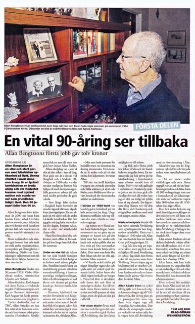 2Allan Bengtsson 91 år
